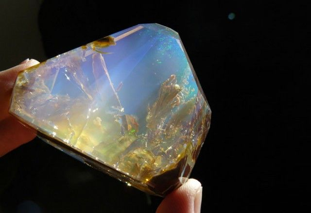 Opal with the Ocean inside