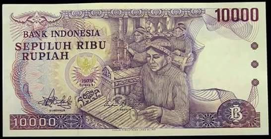 Uang Indonesia Rp 10.000