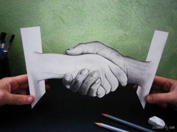 #10. Jabat tangan