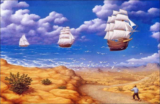 Awan yang mirip lautan