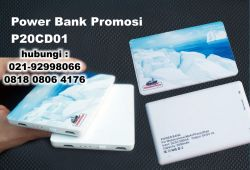 Jual Power Bank Promosi P20CD01