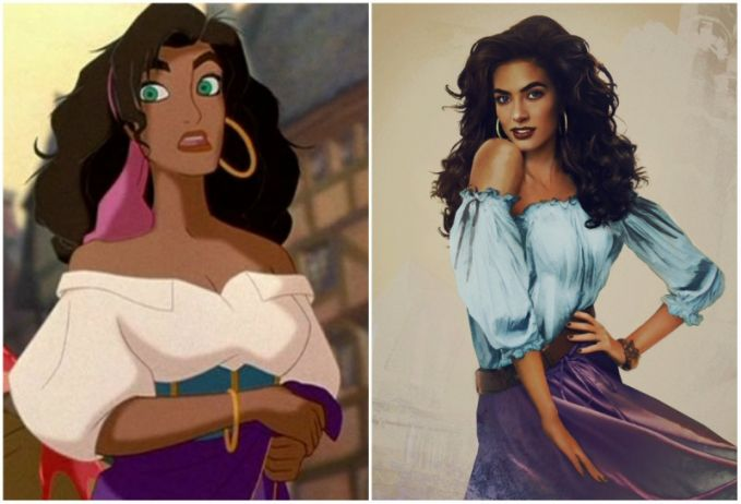Esmeralda, 'The Hunchback of Notre Dame'