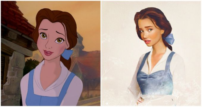 Belle, 'Beauty and the Beast'