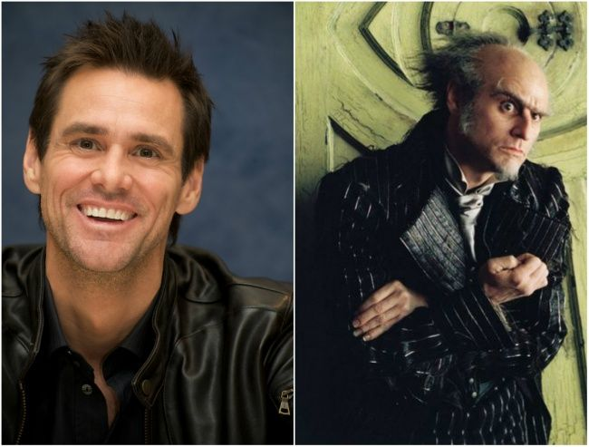 Jim Carrey sebagai Olaf Lemony Snicket's A Series of Unfortunate Events, 2004