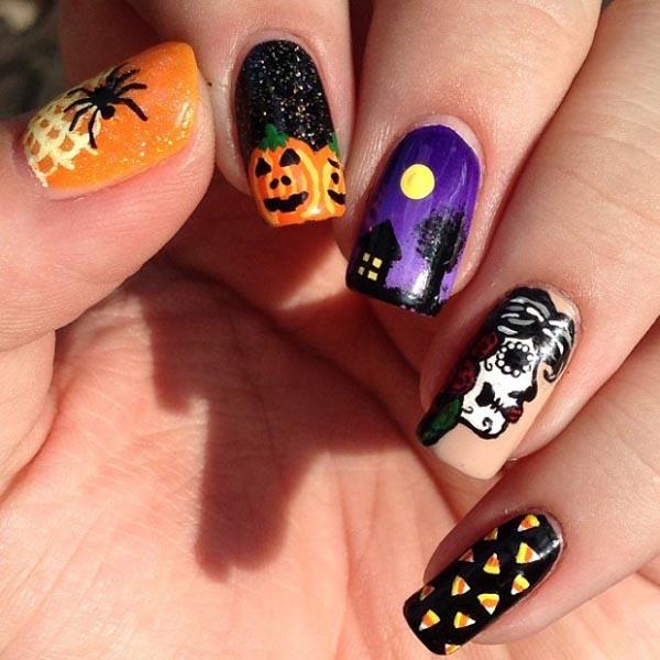 Gimana ladies, tertarik untuk membuat nail art keren juga?.