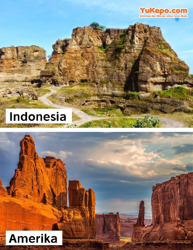 Brown Canyon, Semarang Vs Grand Canyon Amerika Serikat