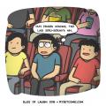 8 Komik Strip Tentang Nonton Film yang Pasti Kamu Alami