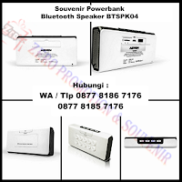 WOW Keren!!! Souvenir Power Bank – Wireless and Bluetooth Speaker