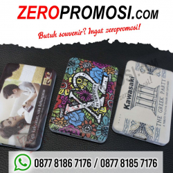 WOW Keren!!! Souvenir Power Bank Arden Model Kartu - Grosir Powerbank Promosi