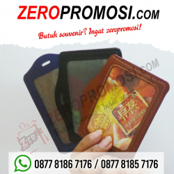 WOW Keren!!! Souvenir Casing ID Card Kulit - ID Card Holder Leather