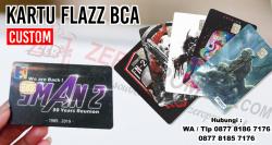 Jual Souvenir Kartu Flazz BCA Custom Promosi