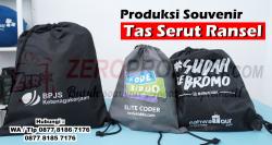 Jual Souvenir dan Merchandise Tas serut Custom