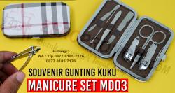 Jual Souvenir dan Merchandise Manicure Set MD03 Promosi