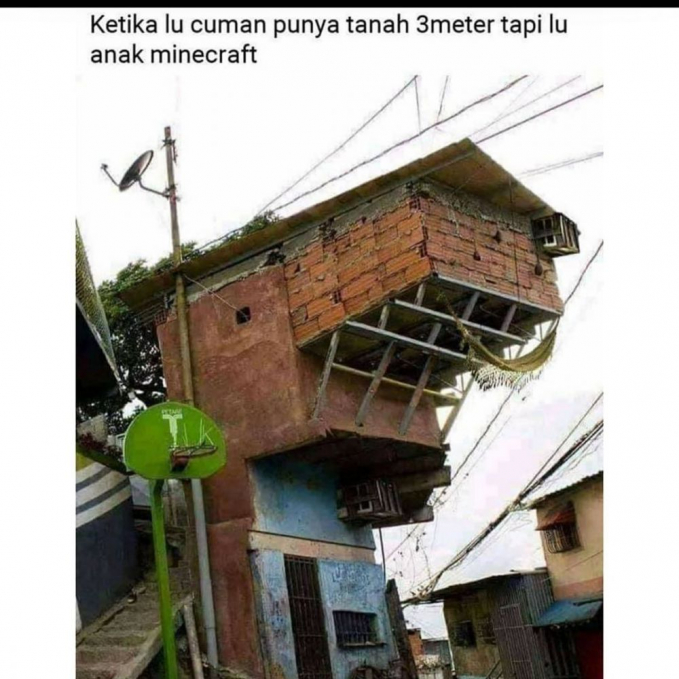 Pemain game Minecraft can relate.