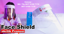 Souvenir Face Shield Protector / Pelindung Muka Akrilik
