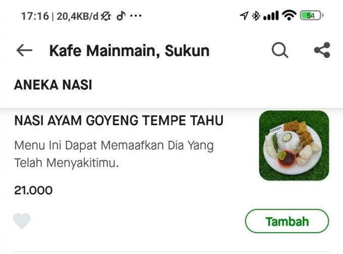Yang lagi marahan sama pacar, boleh coba menu ini biar bisa saling memaafkan.