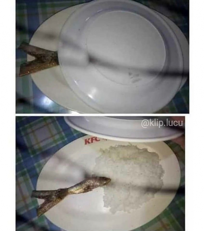 Kirain bankalan beneran makan ikan yang besar
