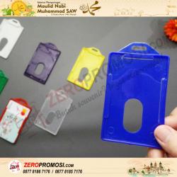 Souvenir Frame Casing Kartu ID Card Name Tag Plastik 1 Kartu